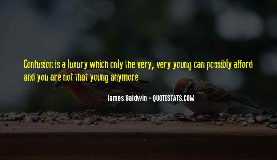 Baldwin James Quotes #273671
