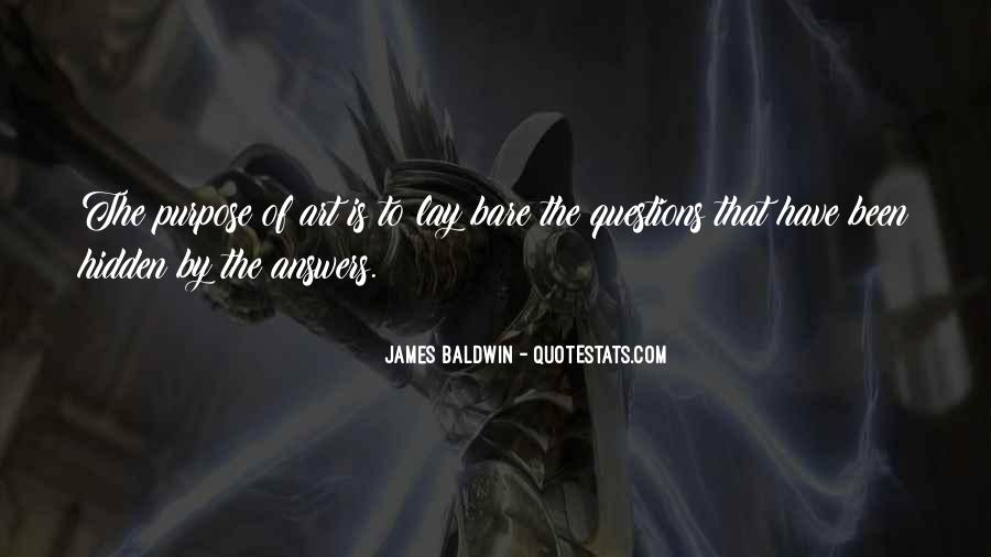 Baldwin James Quotes #275888