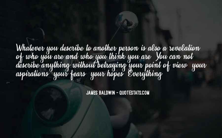 Baldwin James Quotes #292064
