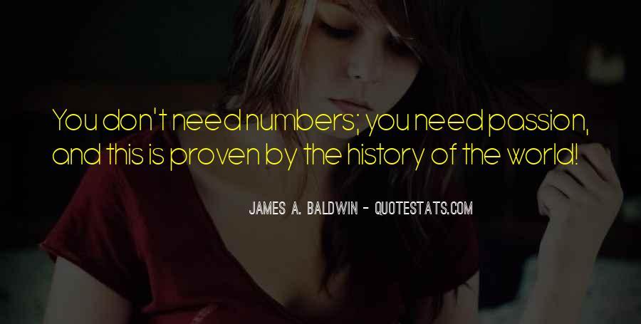 Baldwin James Quotes #308271