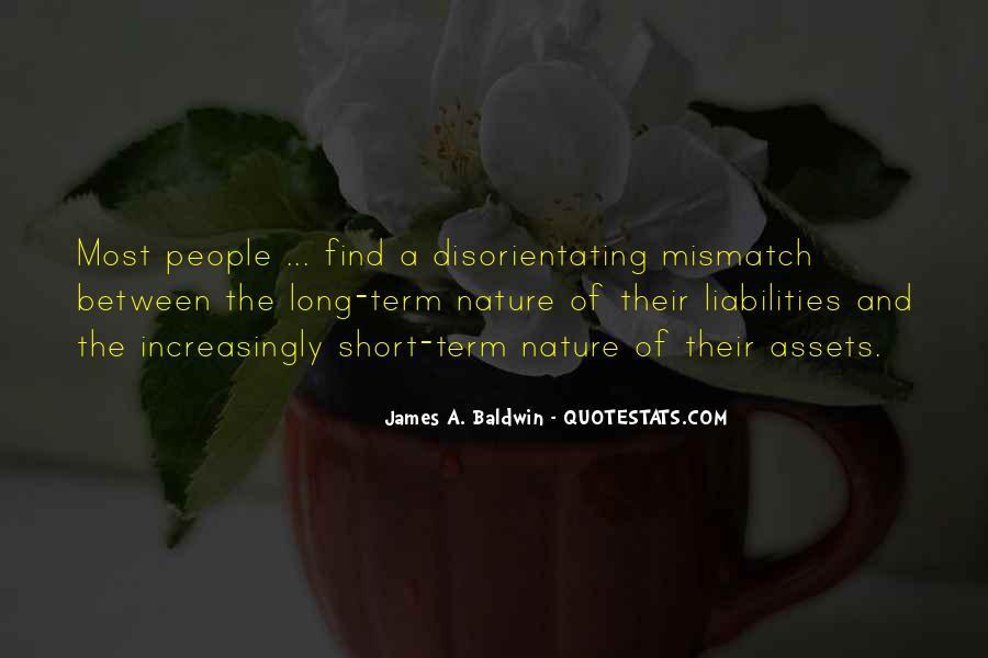 Baldwin James Quotes #309579