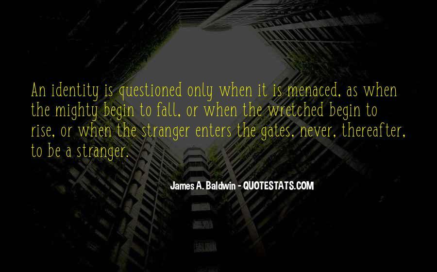 Baldwin James Quotes #349659