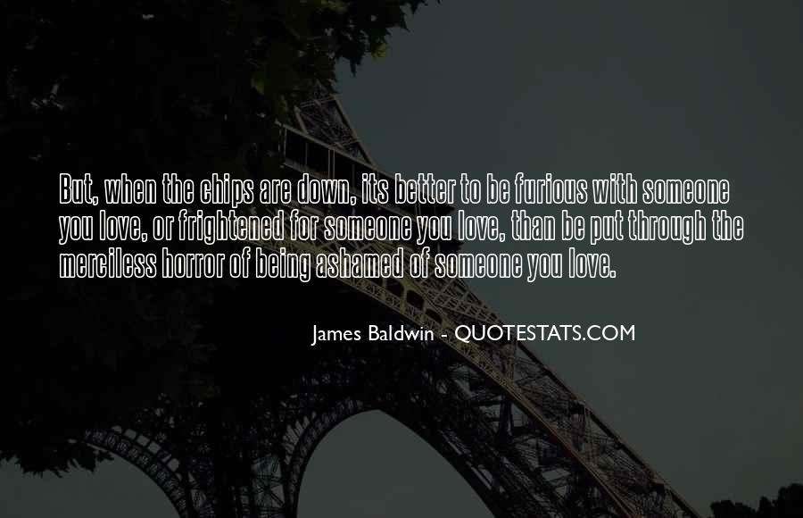 Baldwin James Quotes #364682