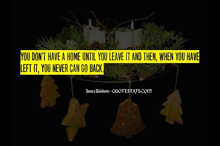 Baldwin James Quotes #372963