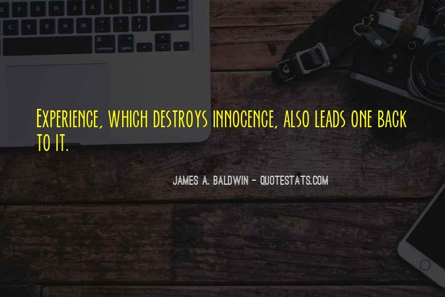Baldwin James Quotes #48415