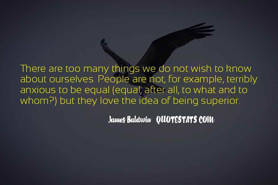 Baldwin James Quotes #51835