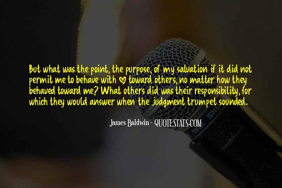 Baldwin James Quotes #58021