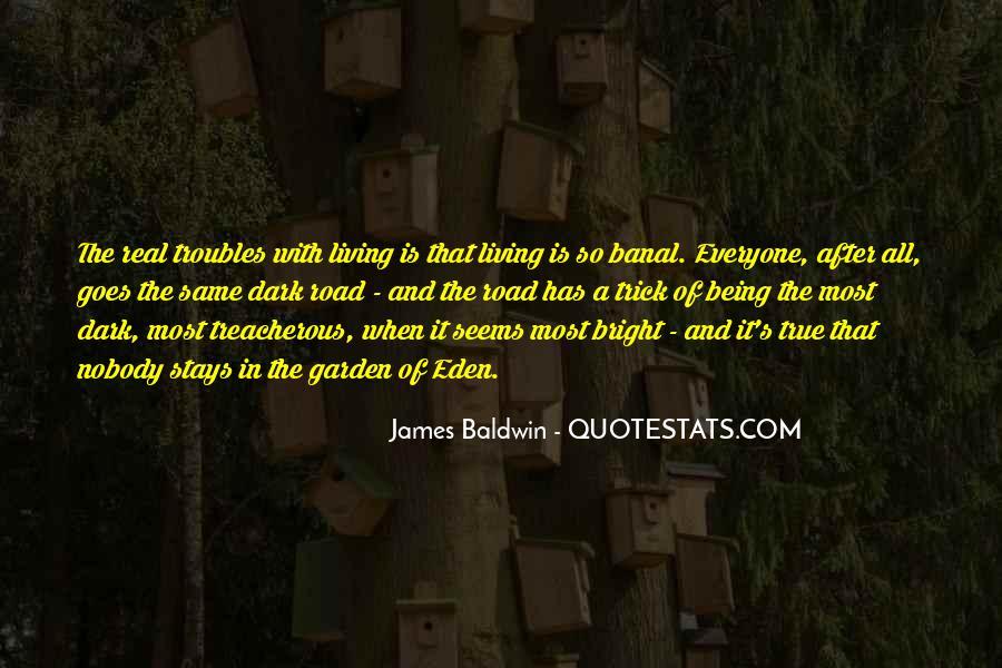 Baldwin James Quotes #68497