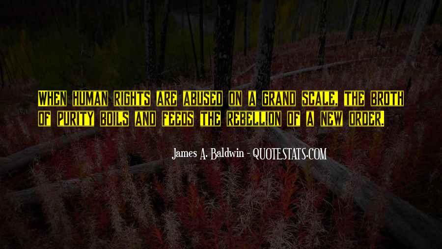 Baldwin James Quotes #69257