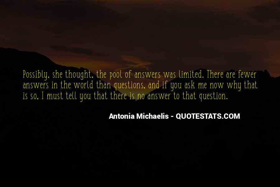 Quotes About Michaelis #971861