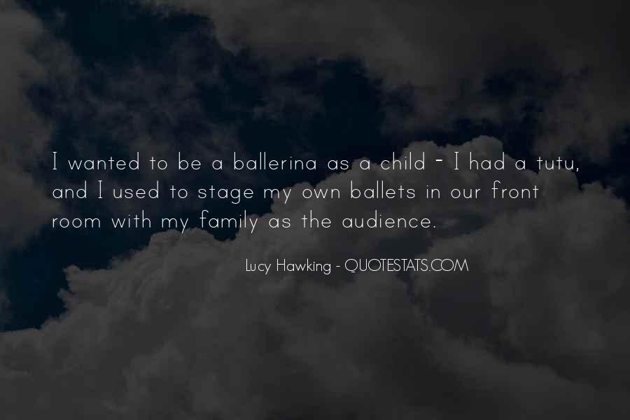 Ballerina Tutu Quotes #1843460