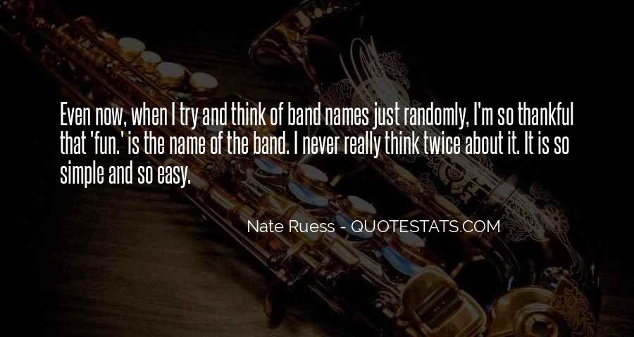 Band Name In Quotes #157774