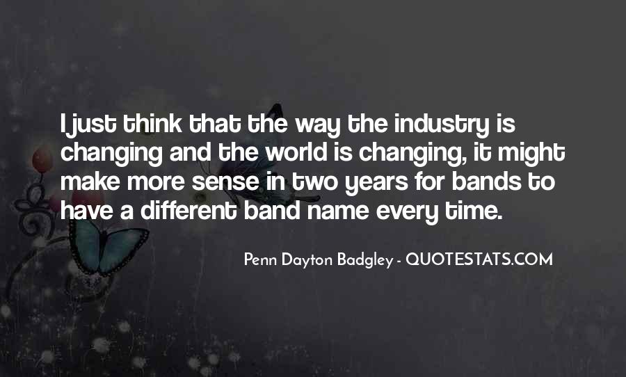 Band Name In Quotes #201684