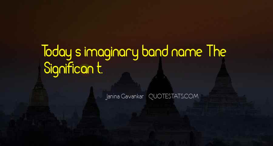 Band Name In Quotes #22553