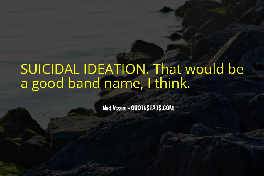 Band Name In Quotes #238903