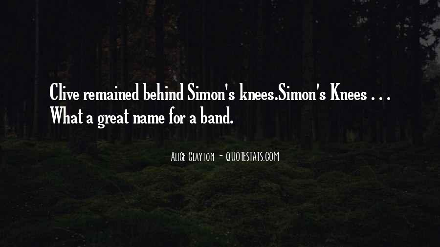 Band Name In Quotes #306822
