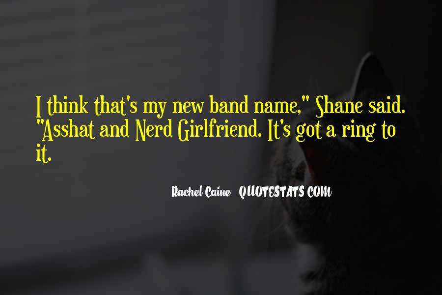 Band Name In Quotes #611587