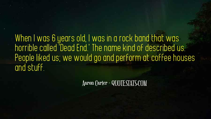 Band Name In Quotes #659561