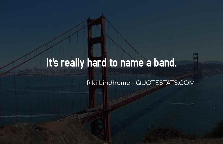 Band Name In Quotes #772844
