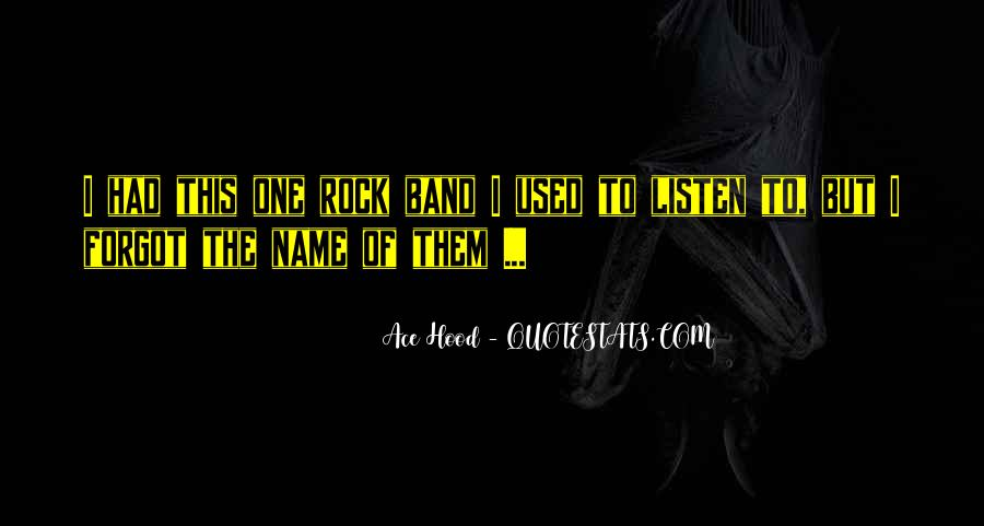 Band Name In Quotes #928043