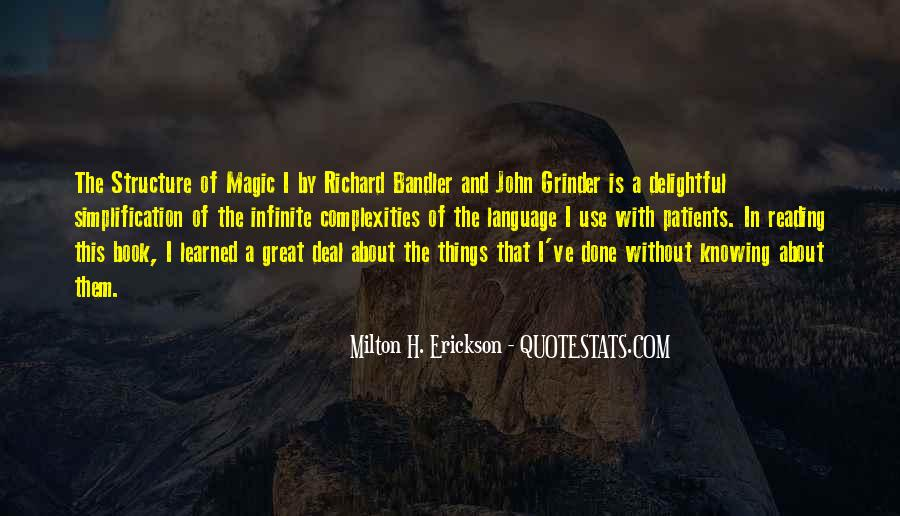 Bandler And Grinder Quotes #595604