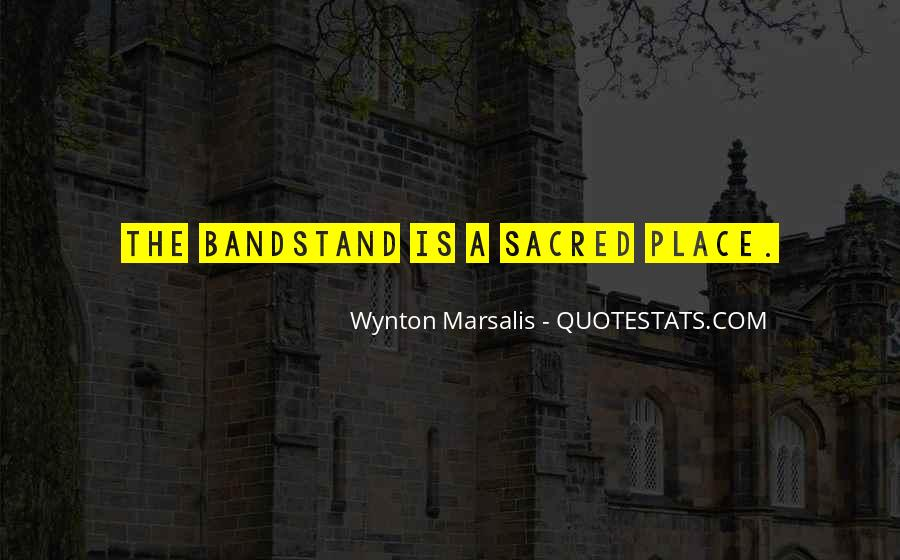 Bandstand Quotes #1226494