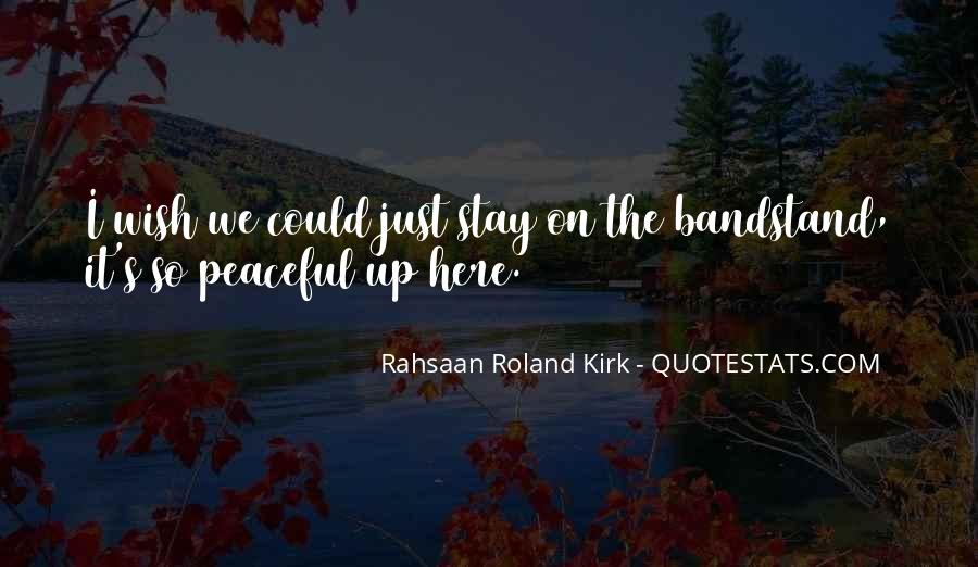 Bandstand Quotes #1230439