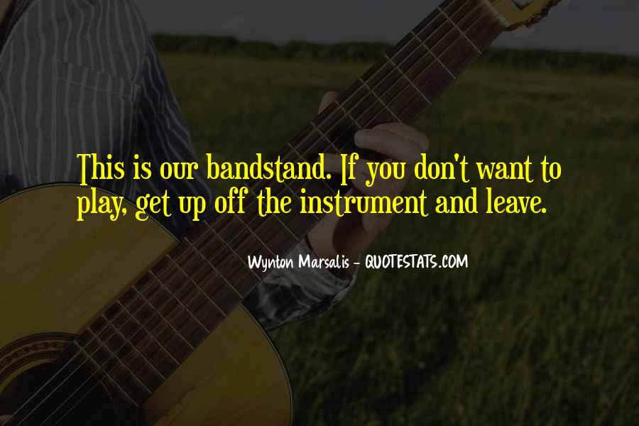 Bandstand Quotes #306776