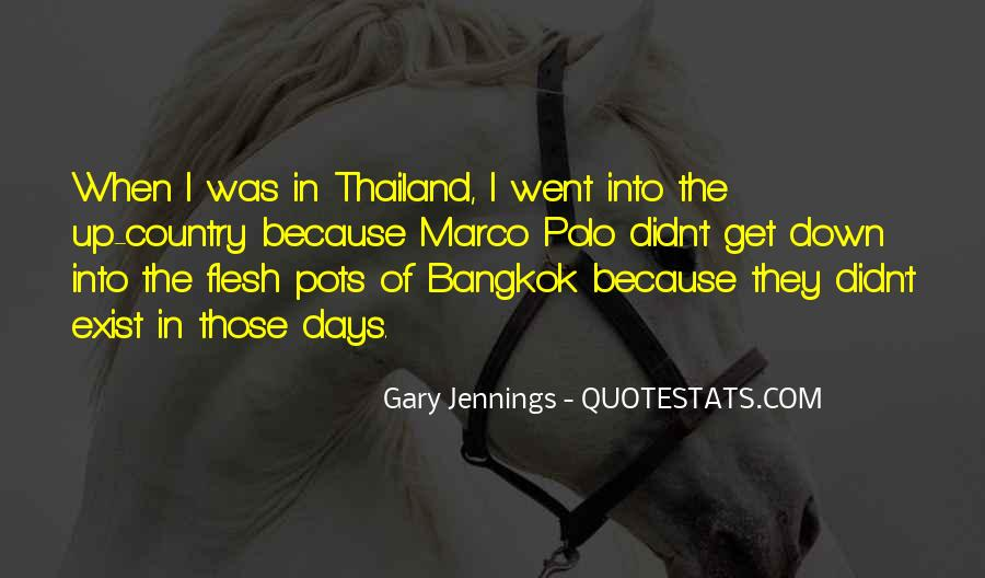 Bangkok Thailand Quotes #1152357
