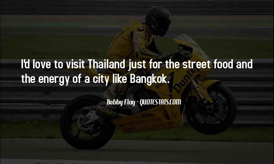 Bangkok Thailand Quotes #772356