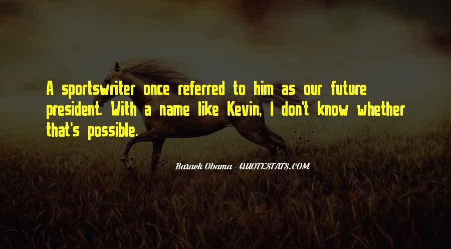 Barack Obama Funny Quotes #1028849