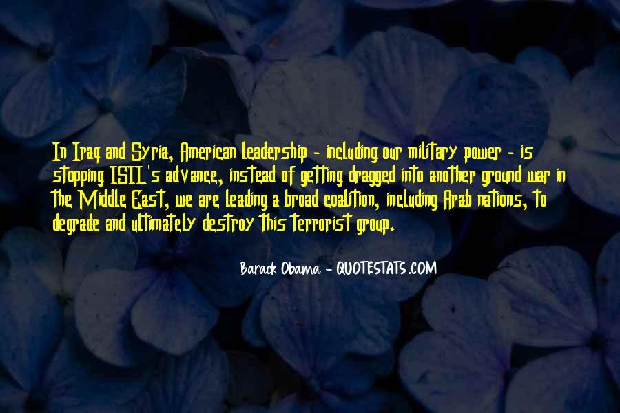 Barack Obama Syria Quotes #1123002