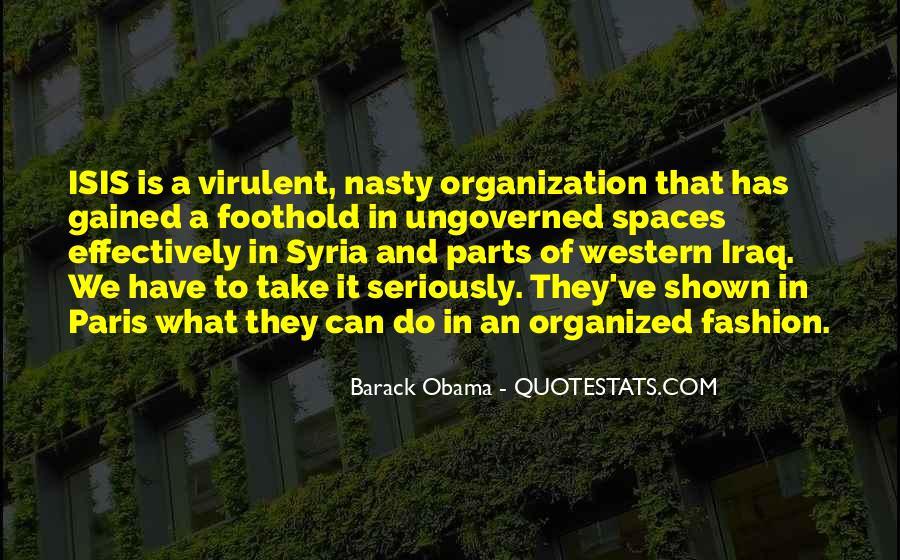 Barack Obama Syria Quotes #1417238