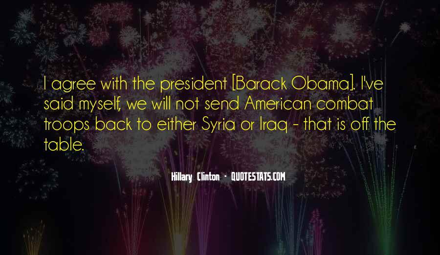 Barack Obama Syria Quotes #1418964