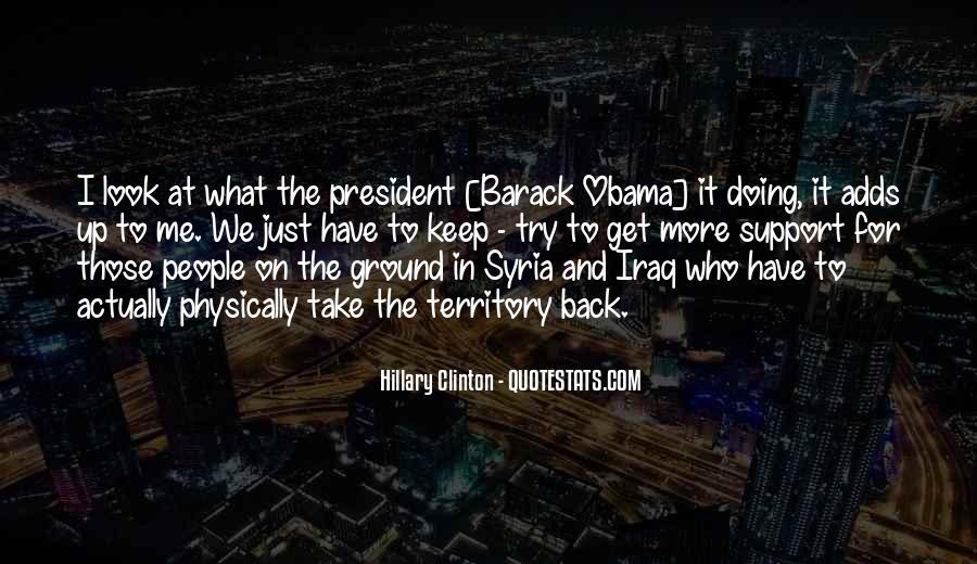 Barack Obama Syria Quotes #1795059