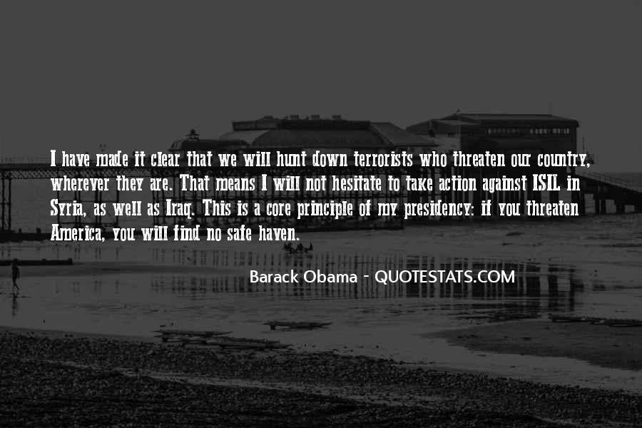 Barack Obama Syria Quotes #38037