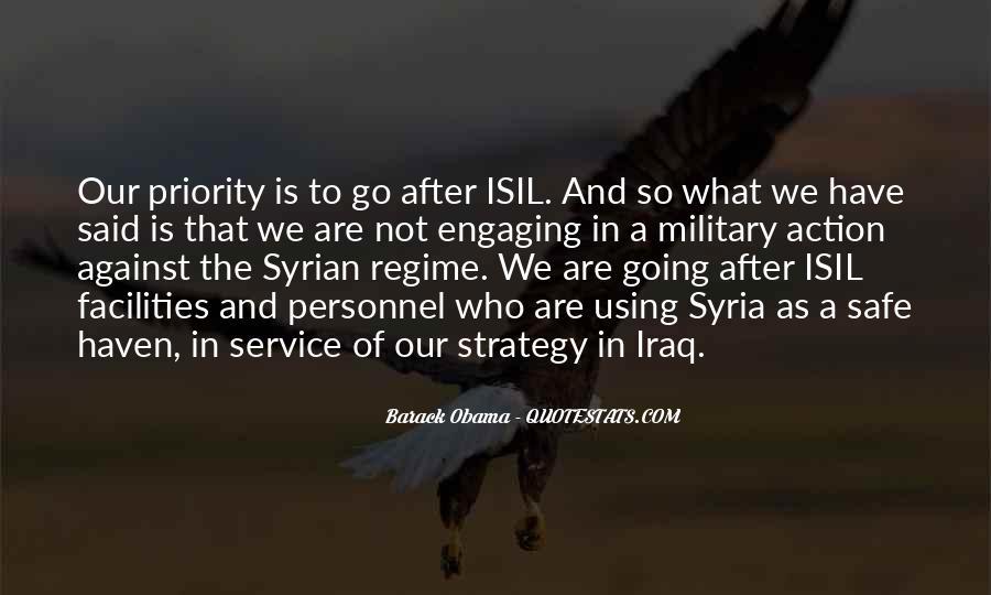 Barack Obama Syria Quotes #610361