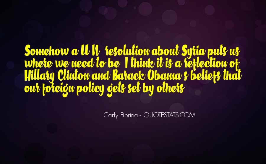 Barack Obama Syria Quotes #975610
