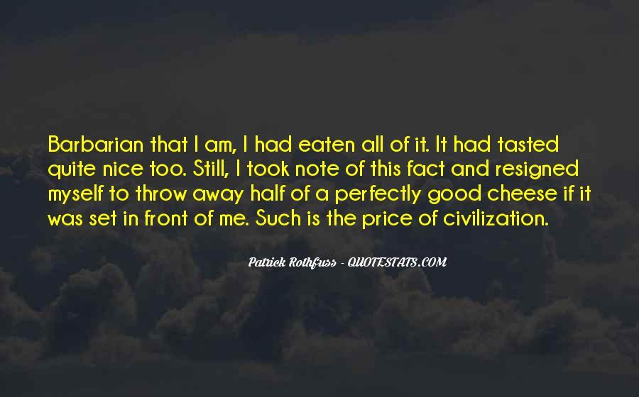 Barbarian Way Quotes #175904