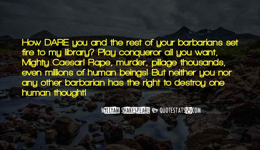 Barbarian Way Quotes #234862