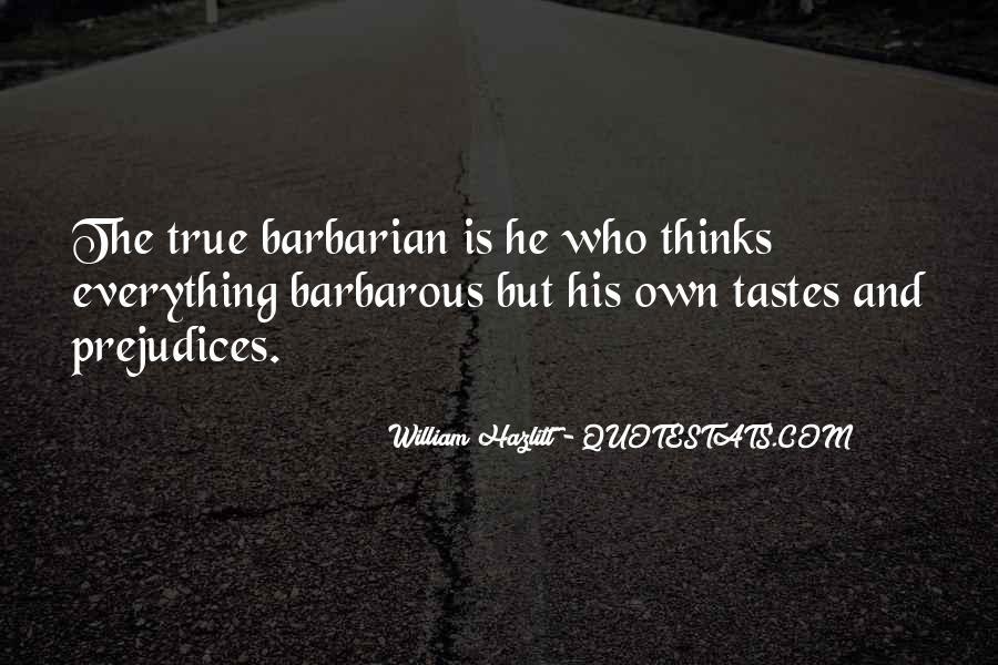 Barbarian Way Quotes #84075