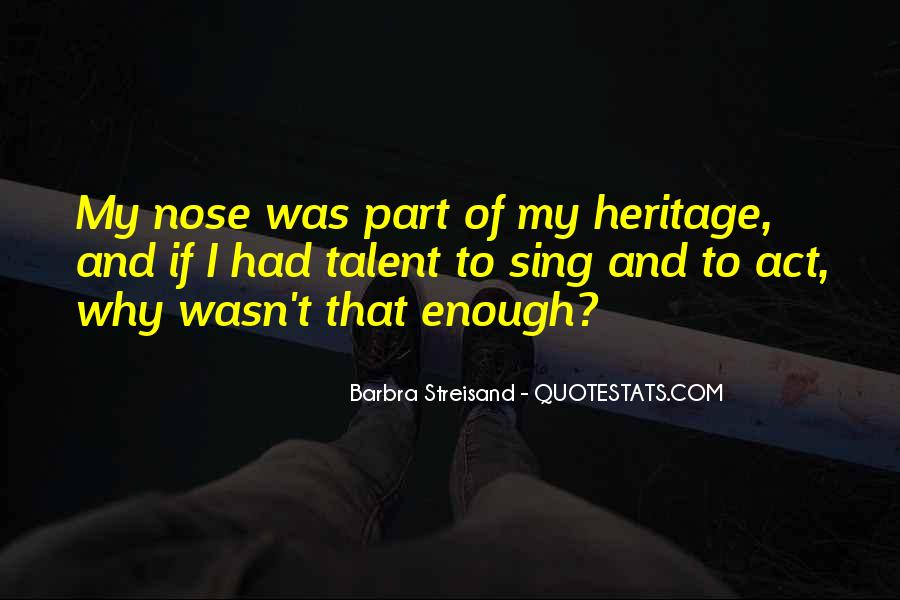 Barbra Streisand The Way We Were Quotes #107782
