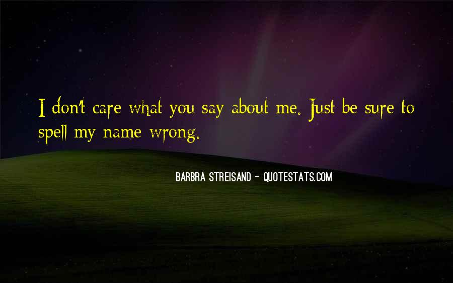 Barbra Streisand The Way We Were Quotes #262674