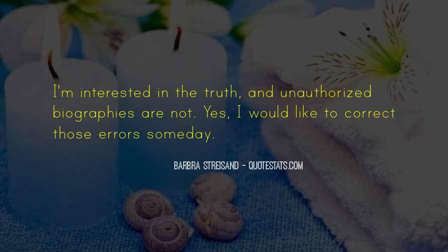Barbra Streisand The Way We Were Quotes #310630