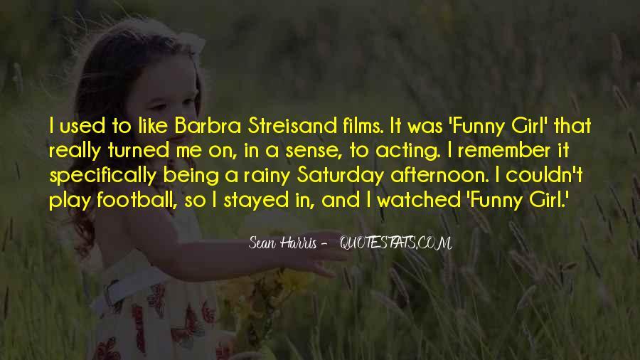 Barbra Streisand The Way We Were Quotes #375602