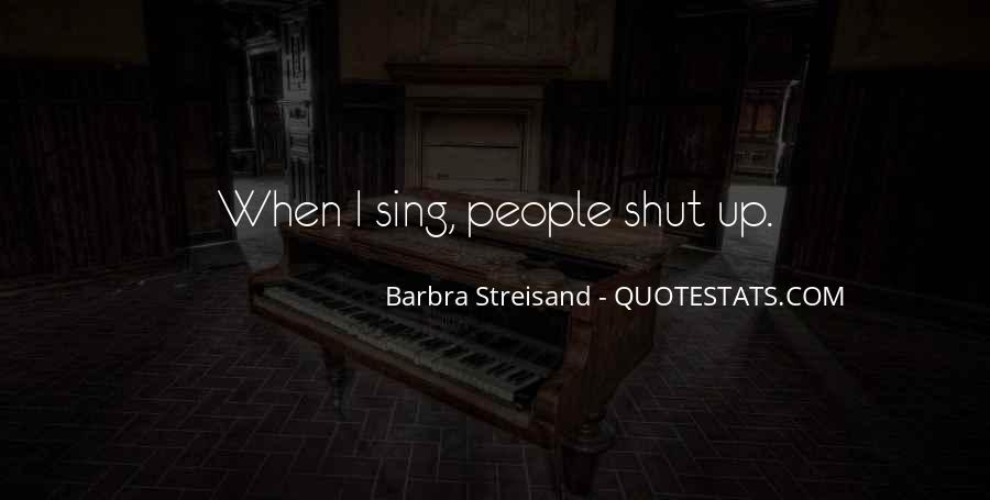 Barbra Streisand The Way We Were Quotes #381957