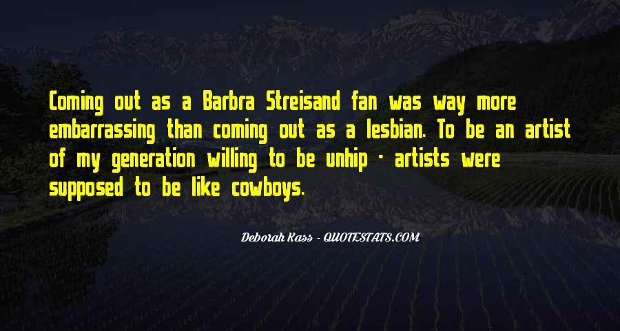 Barbra Streisand The Way We Were Quotes #471660