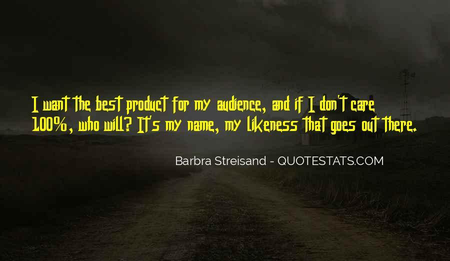 Barbra Streisand The Way We Were Quotes #494150