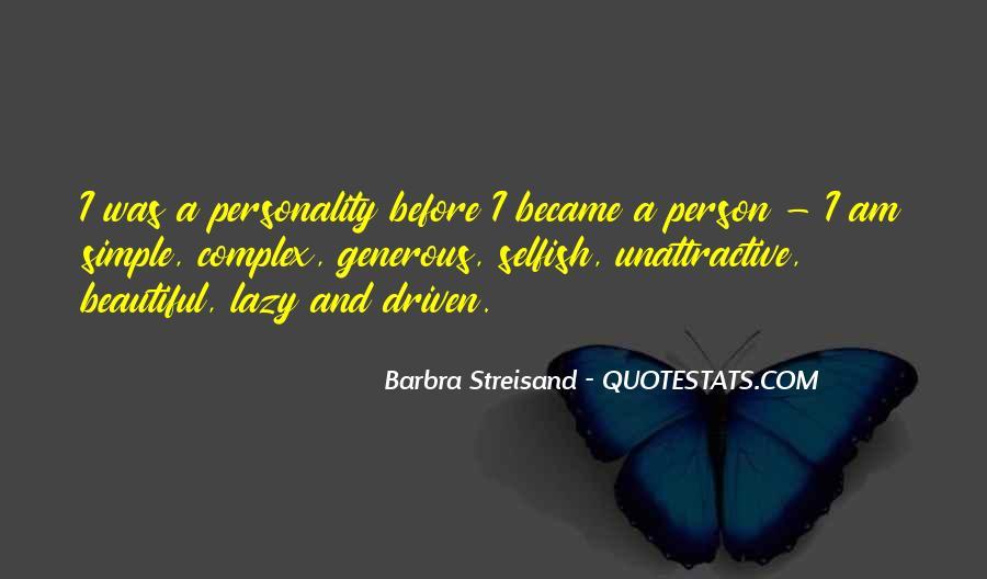 Barbra Streisand The Way We Were Quotes #520502