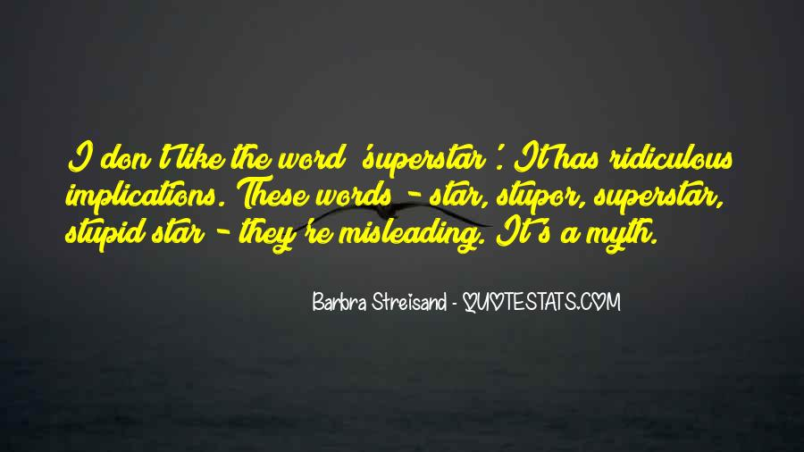 Barbra Streisand The Way We Were Quotes #605782